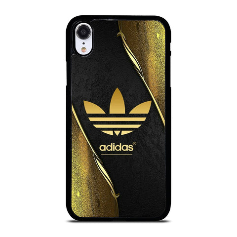 ADIDAS GOLD LOGO iPhone XR Case Cover