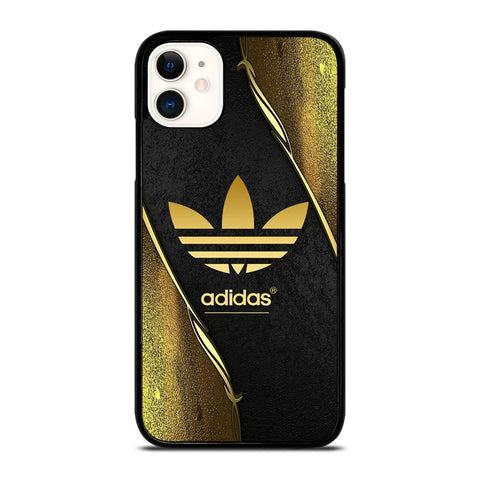 ADIDAS GOLD LOGO iPhone 11 Case Cover