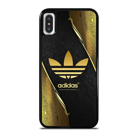 ADIDAS GOLD LOGO iPhone X / XS Case Cover