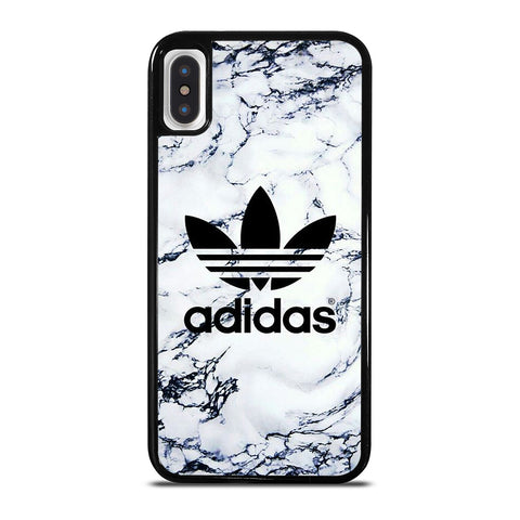 ADIDAS LOGO MARBLE iPhone X / XS Case Cover