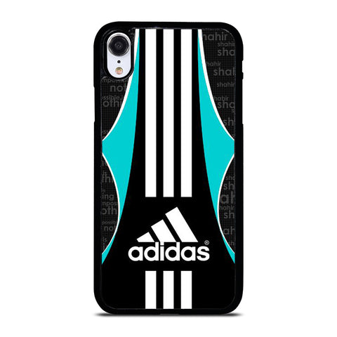 ADIDAS LOGO STRIPE iPhone XR Case Cover