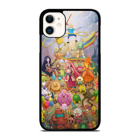 ADVENTURE TIME AND FRIEND iPhone 11 Case Cover