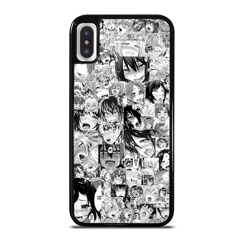 AHEGAO COMIC ANIME iPhone X / XS Case Cover