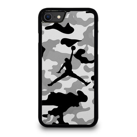 AIR JORDAN CAMO iPhone SE 2020 Case Cover