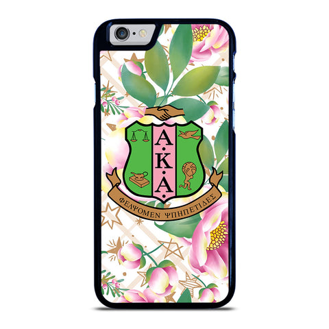 AKA PINK AND GREEN FLOWER LOGO iPhone 6 / 6S Case Cover