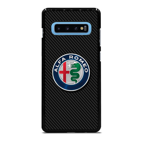 ALFA ROMEO CARBON Samsung Galaxy S10 Plus Case Cover