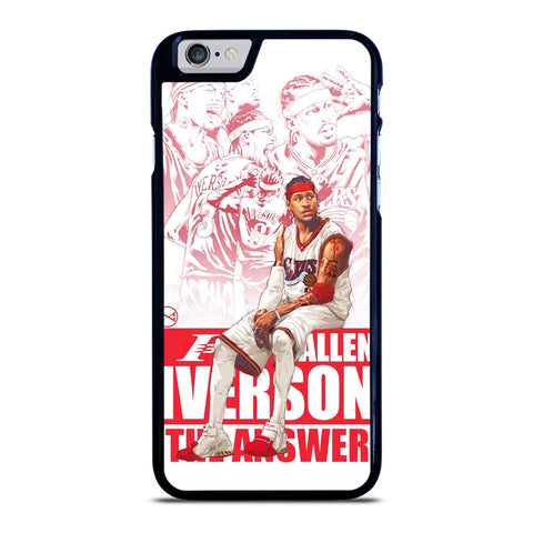 ALLEN IVERSON SIXERS NBA iPhone 6 / 6S Case Cover