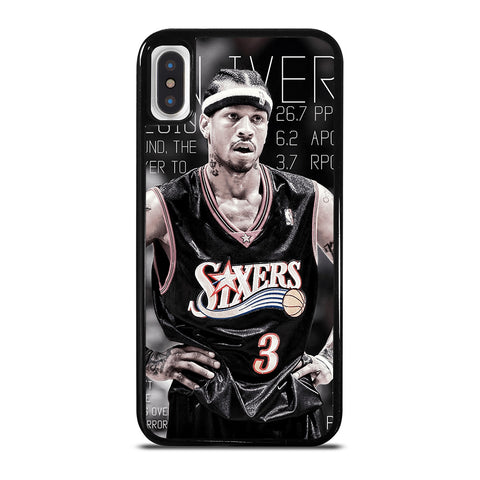 ALLEN IVERSON SIXERS iPhone X / XS Case Cover