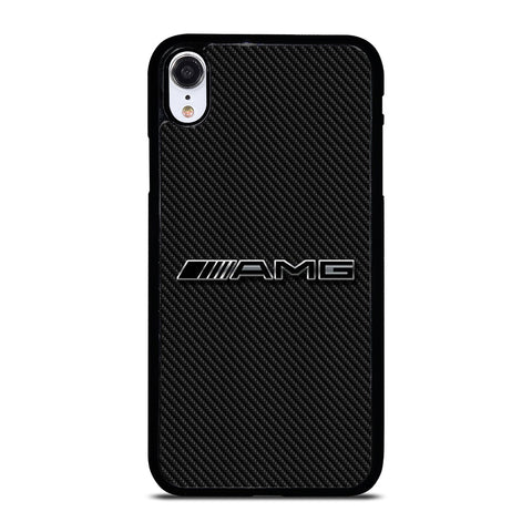 AMG MERCEDES BENZ LOGO CARBON iPhone XR Case Cover