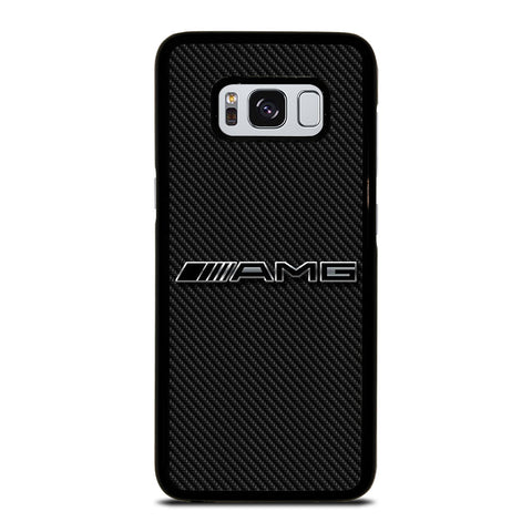 AMG MERCEDES BENZ LOGO CARBON Samsung Galaxy S8 Case Cover