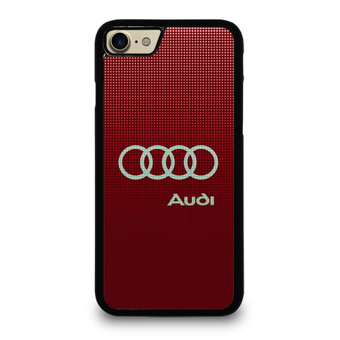 AUDI LOGO RED iPhone 7 / 8 Case Cover
