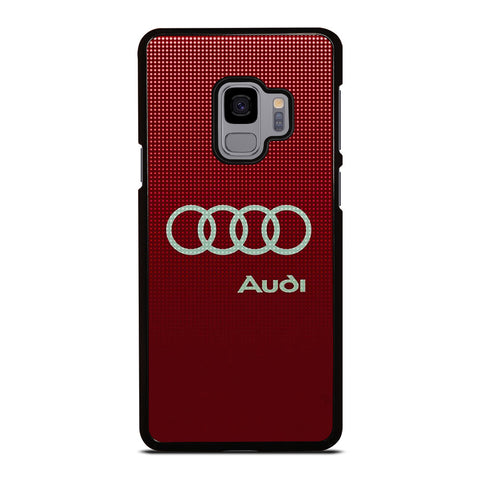 AUDI LOGO RED Samsung Galaxy S9 Case Cover
