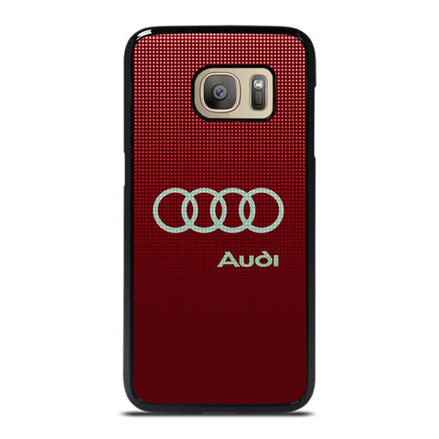 AUDI LOGO RED Samsung Galaxy S7 Case Cover