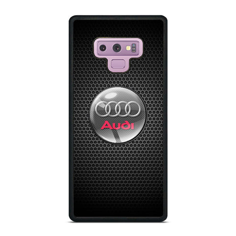 AUDI METAL LOGO Samsung Galaxy Note 9 Case Cover