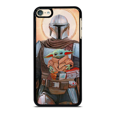 BABY YODA AND THE MANDALORIAN STAR WARS iPod Touch 6 Case