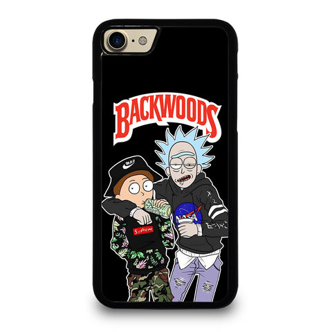 BACKWOODS RICK AND MORTY 4 iPhone 7 / 8 Case Cover