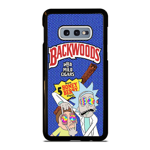 BACKWOODS RICK AND MORTY 2 Samsung Galaxy S10e Case Cover