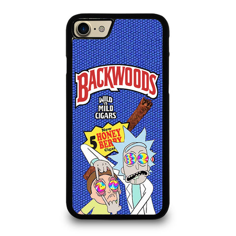 BACKWOODS RICK AND MORTY 2 iPhone 7 / 8 Case Cover