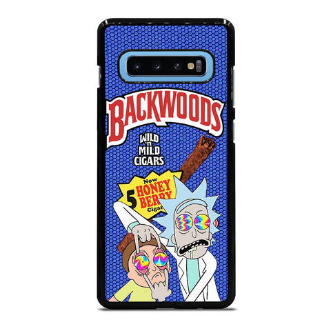 BACKWOODS RICK AND MORTY 2 Samsung Galaxy S10 Plus Case Cover