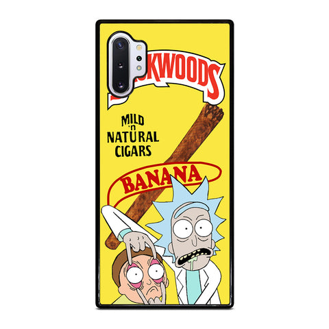 BACKWOODS RICK AND MORTY Samsung Galaxy Note 10 Plus Case Cover