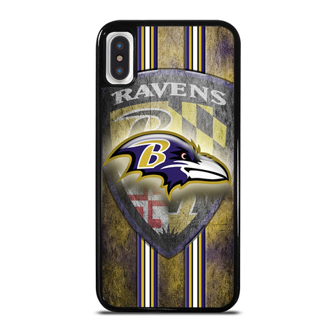 BALTIMORE RAVENS FOOTBALL iPhone X / XS Case Cover