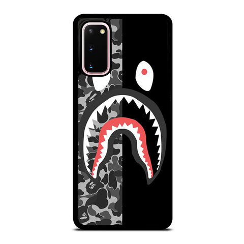 BAPE SHARK CAMO Samsung Galaxy S20 Case Cover