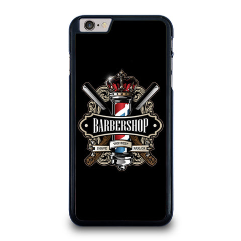 BARBERSHOP POLE HAIR CUT LOGO iPhone 6 / 6S Plus Case Cover