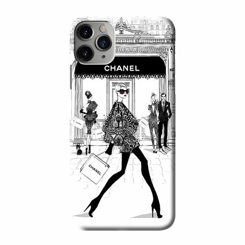 BEAUTY FASHION MEGAN HESS iPhone 3D Case Cover