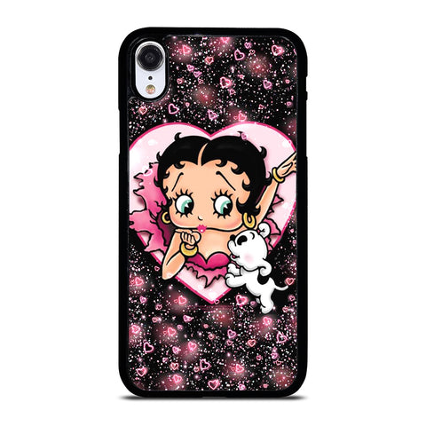 BETTY BOOP CUT LOVE iPhone XR Case Cover