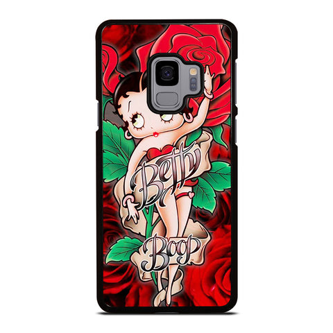 BETTY BOOP FLORAL Samsung Galaxy S9 Case Cover