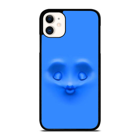 BLUE FACE KISS iPhone 11 Case Cover