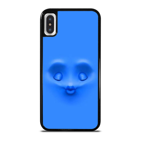 BLUE FACE KISS iPhone X / XS Case Cover