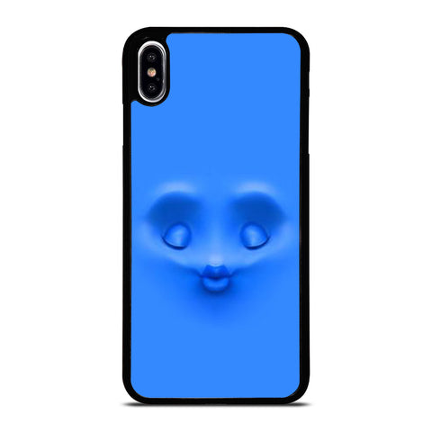 BLUE FACE KISS iPhone XS Max Case Cover