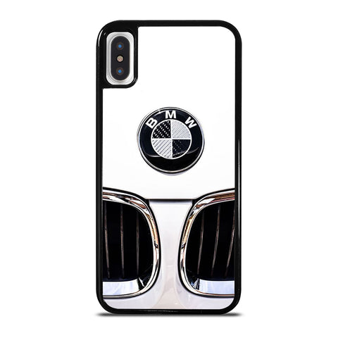 BMW CAR WHITE LOGO iPhone X / XS Case Cover