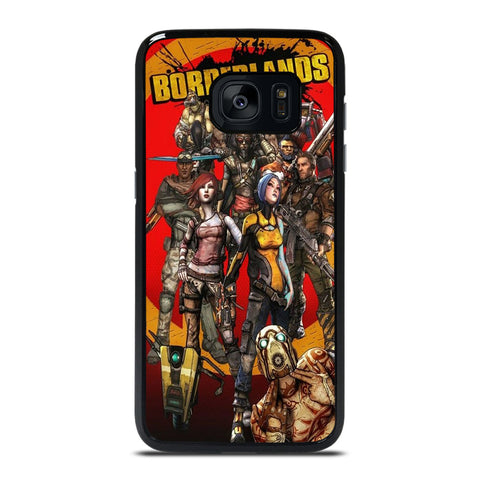 BORDERLANDS ALL CHARACTER Samsung Galaxy S7 Edge Case Cover