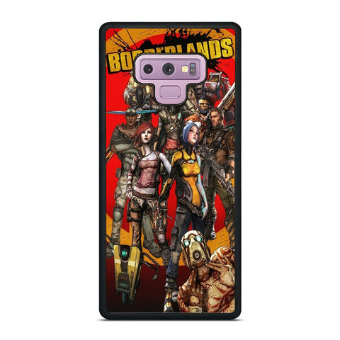 BORDERLANDS ALL CHARACTER Samsung Galaxy Note 9 Case Cover