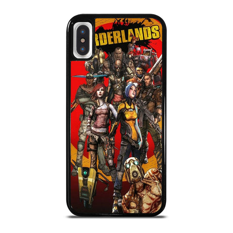 BORDERLANDS ALL CHARACTER iPhone X / XS Case Cover