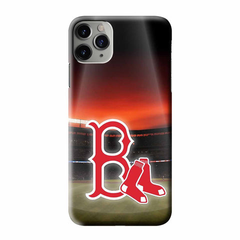 BOSTON RED SOX LOGO 1 iPhone 3D Case Cover