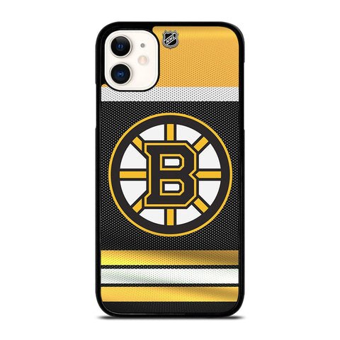 BOSTON BRUINS LOGO NHL iPhone 11 Case Cover