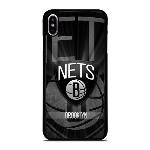 BROOKLYN NETS NBA iPhone XS Max Case Cover