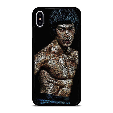 BRUCE LEE QUOTE ART iPhone XS Max Case Cover