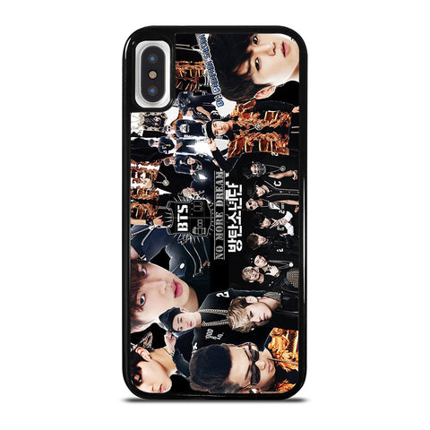 BTS BANGTAN BOYS COLLAGE iPhone X / XS Case Cover