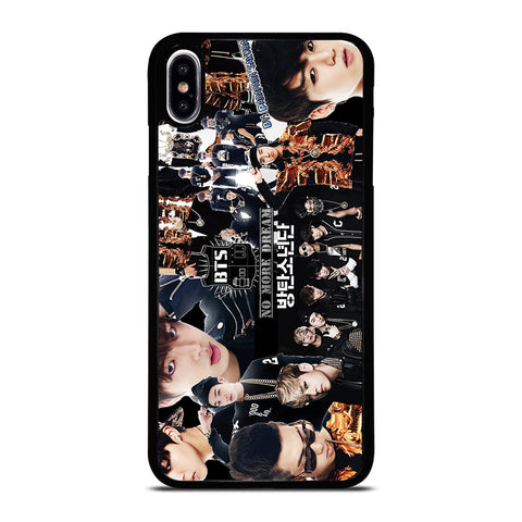 BTS BANGTAN BOYS COLLAGE iPhone XS Max Case Cover
