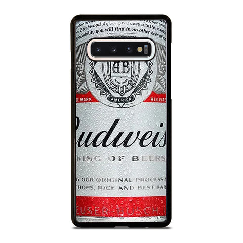 BUDWEISER BEER CAN Samsung Galaxy S10 Case Cover