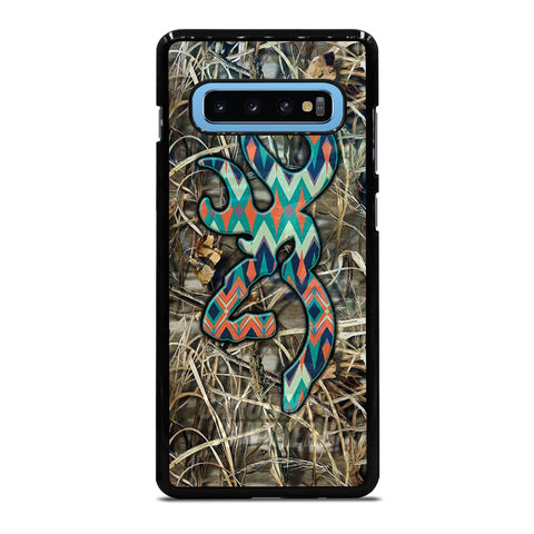 CAMO BROWNING LOGO Samsung Galaxy S10 Plus Case Cover