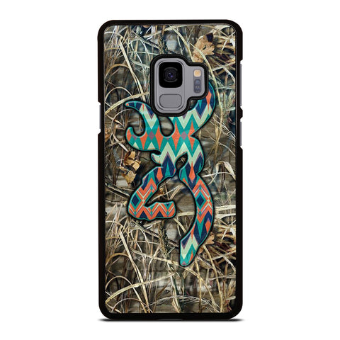 CAMO BROWNING LOGO Samsung Galaxy S9 Case Cover