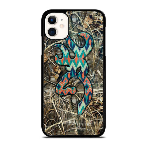 CAMO BROWNING LOGO iPhone 11 Case Cover