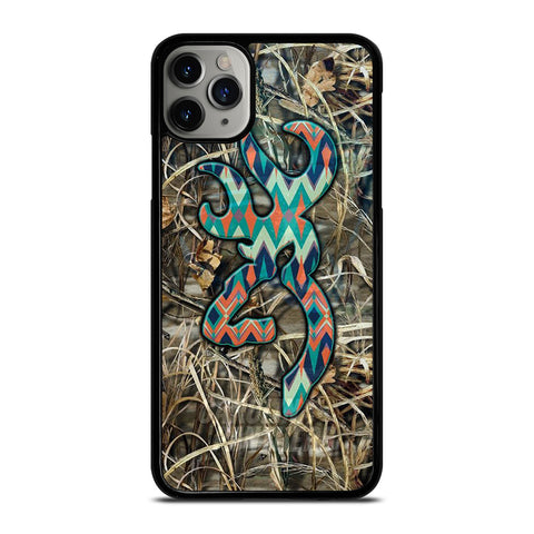 CAMO BROWNING LOGO iPhone 11 Pro Max Case Cover