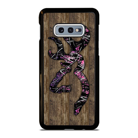 CAMO BROWNING PINK WOOD Samsung Galaxy S10e Case Cover