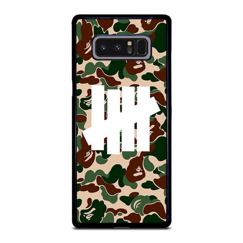 CAMO UNDEFEATED LOGO Samsung Galaxy Note 8 Case Cover
